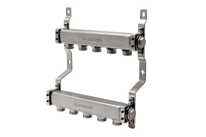 M-8300E Economy Stainless Steel Manifold