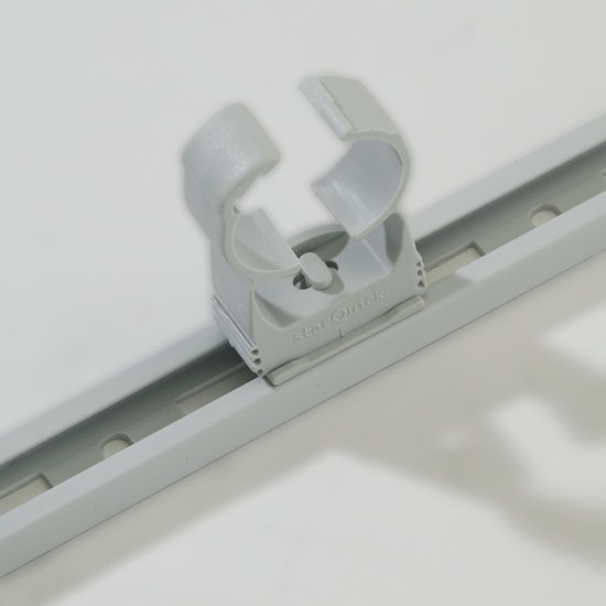 SnappRAIL™ Clip and Rail Closeup
