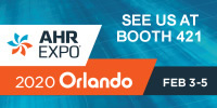 AHR Expo February 3-5 at Booth 421